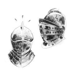 #helmets #knights #gothic #illustration #blackandwhite #inked #inkultbepart #illustrator #lines #blackandwhiteart #posterart #posterillustration #bandart #blackwork  #graphicdesign  #typography Helmets, Knights, Blackwork, Illustrator, Gothic, Typography, Graphic Design, Ink, Poster