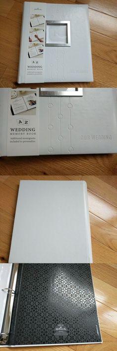 Hallmark Stories Wedding Album Scrapbook Memory Photo Album Black