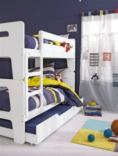 escalier avec rangement pour combin volutif combibed blanc lits et lits gigognes. Black Bedroom Furniture Sets. Home Design Ideas