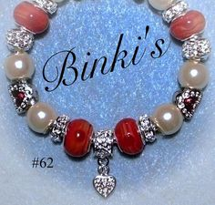 Valentines day jewelry/valentines day charm by Binkisbling on Etsy, $50.00