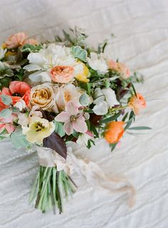 Spectacular Bouquet - See the Flower Workshop for more beautiful bouquets on SMP: http://www.StyleMePretty.com/2013/12/05/flowerwild-workshop-with-jose-villa-2014-announcements/ Jose Villa Photography