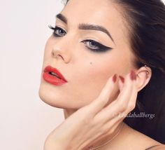 Eyeliner ✔️ #eyeliner #makeup #fotd