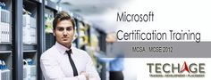 Best MCSA, MCSE Training Institute In Noida, Delhi/NCR. Call For more details:- +91-9212043532, +91-9212063532 Visit:- http://www.techageacademy.com/mcsa/