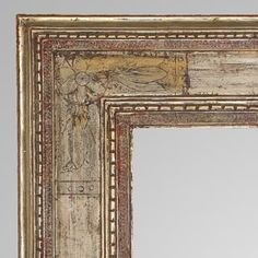 Harer Frame, Silver leaf, 20th Century. Find this and other decorative arts at CuratorsEye.com.