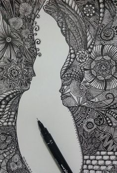 Zentangle | Royals (2015)
