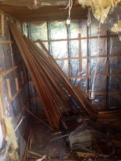 The Old Sauna!