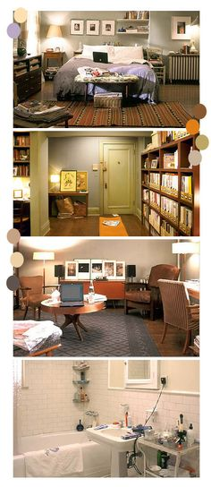 Carrie Bradshaw's apartment is the perfect single city girl apartment. <sigh>