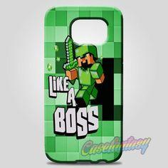 Minecraft Creeper Game Carbon Light Samsung Galaxy Note 8 Case Case   casefantasy