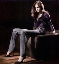 Calvin Klein - Natalia Vodianova - 2003FW - ad campaign -  fashion ads