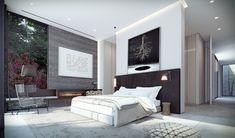 Spacious Sunny Bedroom