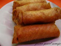 chicken spring rolls lumpia recipe