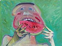 """""""Melonenesser"""" von Maria Lassnig"""