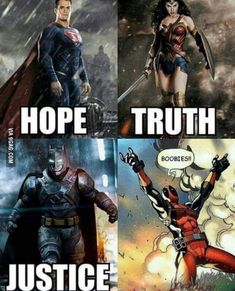 Now here he is Deadpool, one of the most badass superheroes of Marvel Comics. He may not the part of Marvel Cinematic Univers but if he does he will surely come up with a good Deadpool Funny, Funny Marvel Memes, Marvel Jokes, Marvel Dc Comics, Funny Comics, Marvel Avengers, Funny Memes, Hilarious, Picture Quotes