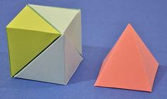 The Volume of a Pyramid is One-Third that of a Prism