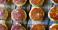 Abergavenny baker Kathryn Gunter explains how to make traditional Welsh cakes from basic ingredients. Welsh Cakes Recipe, Welsh Recipes, Crepes, English Biscuits, English Muffins, Griddle Cakes, Crumble Topping, Little Cakes, Specialty Foods