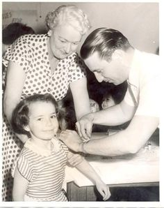 Public confidence in the new Salk polio vaccine was far from solid in 1955, yet parents heeded health officials' advice.