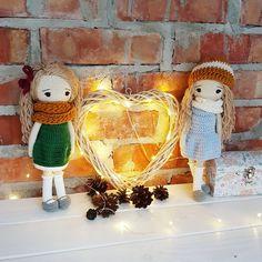 Siostrzyczki . . . #doll #crochetdoll #amigurumi #amigurumidoll #handmadedoll #handmadewithlove #handmade