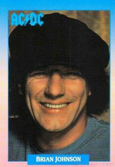 Photo of Brian Johnson for fans of AC/DC 6466197 Rock And Roll Bands, Rock N Roll, Ac Dc Rock, Bon Scott, Brian Johnson, Highway To Hell, The Rocky Horror Picture Show, Greatest Rock Bands, Rock Legends