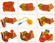 Freeform knit and crochet tutorial