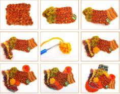Freeform knit and crochet tutorial