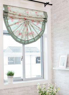 [Выбегайте] американский кантри стиль сада спальня гостиная эркер занавеса ткани Римские шторы поднять вентилятора аромат -tmall.com Lynx