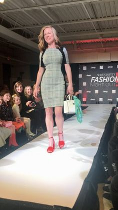 Marc Cain at Fashion Night Out! @cynthiahudsonstyle www.cynthiahudsonstyle.com