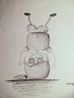 Creación de personaje principal. libro infantil ilustrado ¿Dónde está Doc?.