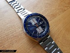 """Of all the incredible chronographs produced by Seiko in the 1970's, in my opinion there is one that stands head and shoulders above the rest: The 6138-0030 aka """"Kakume"""". During this era there were two main chronograph calibers used, the single register 6139 and the dual register 6138. The fiercely popular 6139-600X (aka """"Pogue"""") chronographs … Continue reading Affordable Vintage: Seiko 6138-0030 """"Kakume"""""""