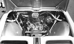 "1962 Ford Mustang I v4 engine | Ford ""Mustang"" V4 Prototype -- Engine Compartment"