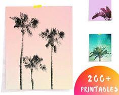 Palm Tree Art, California wall art, Palm Print, Palm Trees, California Poster, Minimalist Palm Print, Palm Tree Decor