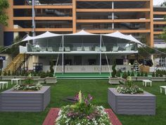 Premium Halo Structure - Royal Ascot 2015 #TemporaryStructure #Hospitality #VIP #ModularStructure