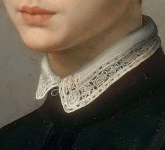 rubenista:  Detail ofPortrait of a Young Sculptor (possiblyBaccio Bandinelli)by Agnolo Bronzino (1540-1550)