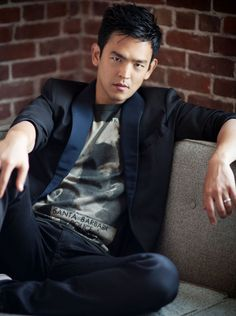 John Cho - He's like that one bachelor/single-father in the neighborhood that all the little girls (and their mums) are crushing on - fun, funny, youthful, encouraging, protective, reliable, and gloriously easy on the eyes