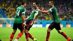 México, con personalidad y fútbol derrota a Croacia.   Detrás de una sólida actuación colectiva, México derrotó a Croacia por 3-1 y se clasificó para disputar los octavos de final de la Copa Mundial de la FIFA 2014™, al terminar segundo en el Grupo A detrás del anfitrión Brasil. El encuentro se disputó el lunes 23 de junio en el Arena Pernambuco de Recife.