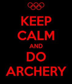 ARCHERY Is The Name Of The Game.
