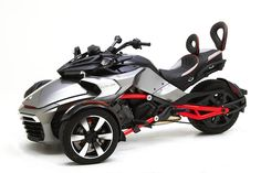 Can-Am Spyder F3 Receives Luxurious Corbin Seats - Photo Gallery