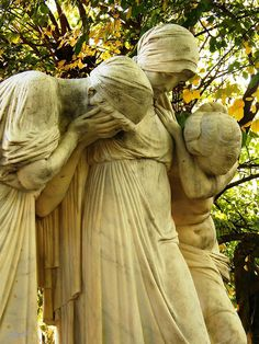 Kerepesi Cemetery, Budapest, Hungary---This evokes so much emotion, no words are needed on this person's tombstone. This is what true art is supposed to do! SO very beautiful!