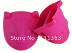 Free shipping  Cat Design Silicone Pot Holder,Silicone glove Oven  kitchen helper and great gift-in Oven Mitts from Home  Garden on Aliexpress.com $2.99