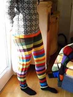 Epic knit pants. #knitting