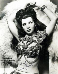Sherry Britton - Burlesque Dancer