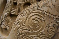 Maori Carving by JimmysWings on DeviantArt Maori Designs, Maori Patterns, Zealand Tattoo, New Zealand Art, Wood Carving Designs, Jr Art, Maori Art, Aboriginal Art, Wood Sculpture