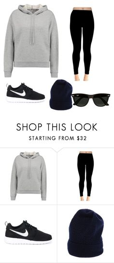 """""""Untitled #221"""" by kimberley-j-feber ❤ liked on Polyvore featuring T By Alexander Wang, NIKE, Loma and Ray-Ban"""