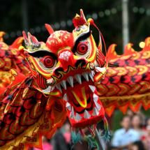 Chinese New Year...WELCOME in the new year of the snake!Dragon parade.