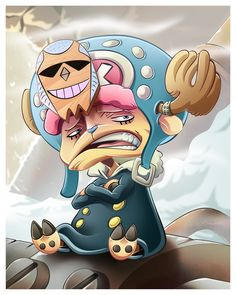 Franky as Tony Tony Chopper