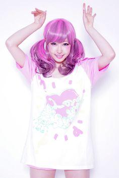 .She's so cute! <3