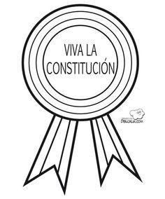 Medalla viva la Constitucion... Celebra las libertades... Ideas Para, Dic, Montessori, Butterflies, Pose, Garden, Constitution Day, Winter Activities, Social Studies