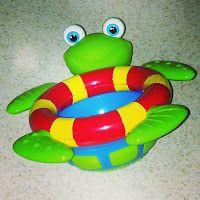 Tub Time Turtle (Mr. Turtle) makes bath time fun!!