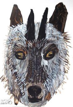 mirocomachiko.com Animal Symbolism, Animal Quilts, True Art, Japanese Artists, Outsider Art, Wildlife Art, Animal Paintings, Artist Painting, Figurative Art