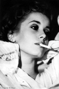 catherine deneuve by david bailey.