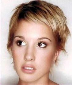 Get the out of bed look with this funky style. - See more at: http://www.short-hairstyles.com/short/s22.htm#14